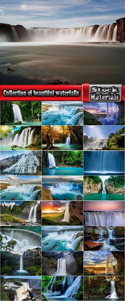 Collection of beautiful waterfalls 25 UHQ Jpeg