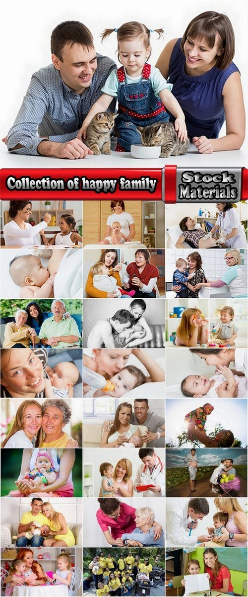 Collection of happy family 25 UHQ Jpeg