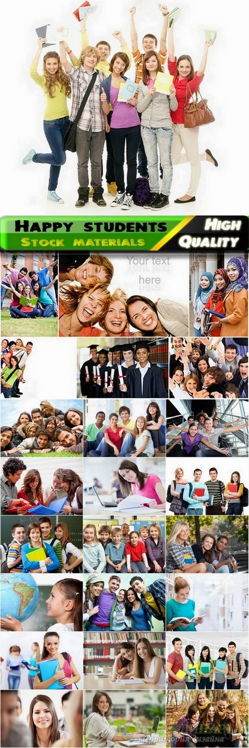 Happy students and education Stock images - 25 HQ Jpg