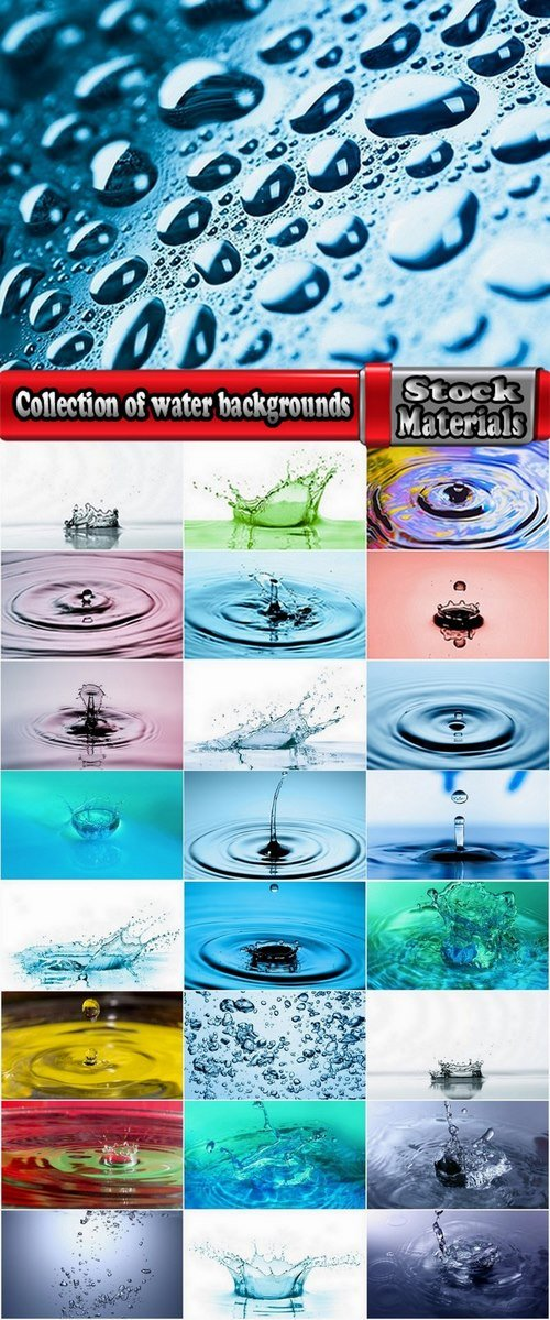 Collection of water backgrounds 25 UHQ Jpeg