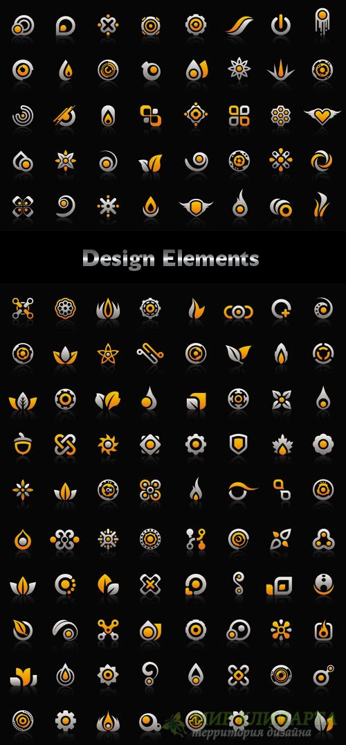 Design Elements in Vector