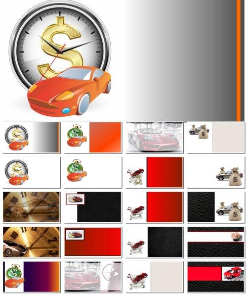 Фоны для визиток: покупка авто, выкуп автомобилей. 20 JPEG
