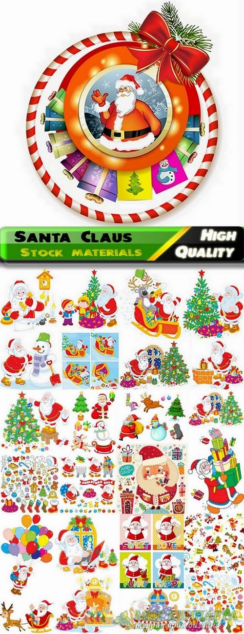 Santa Claus and merry christmas - 25 Eps