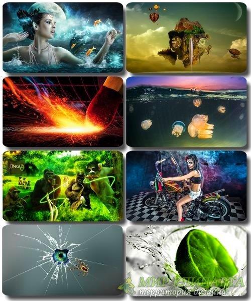 Сборник креативных обоев - Art картинки (часть 28)