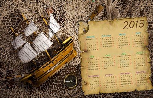 Календарь на 2015 год ''На край земли ''