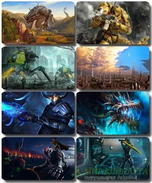 Фантастические обои - HQ картинки Art Photoshop часть 42