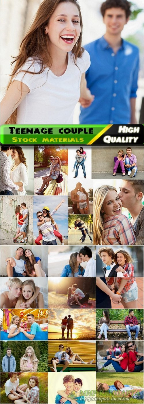 Teenage couple in love Stock images - 25 HQ Jpg