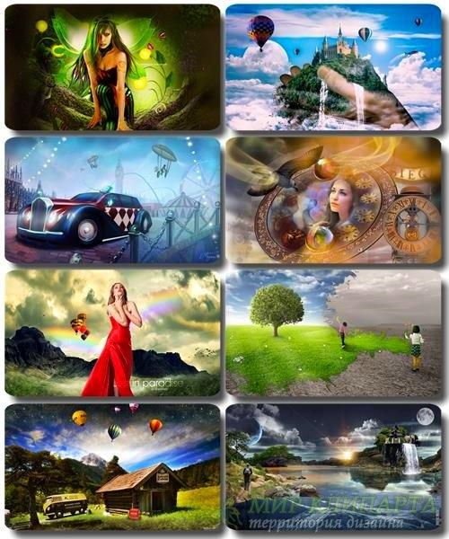 Сборник креативных обоев - Art картинки (часть 29)