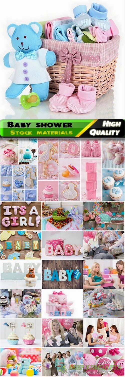 Baby shower Stock images - 25 HQ Jpg