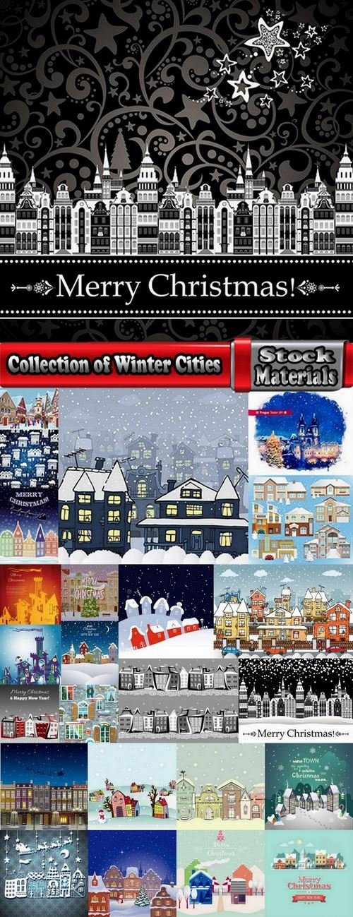 Collection of Winter Cities 25 Eps