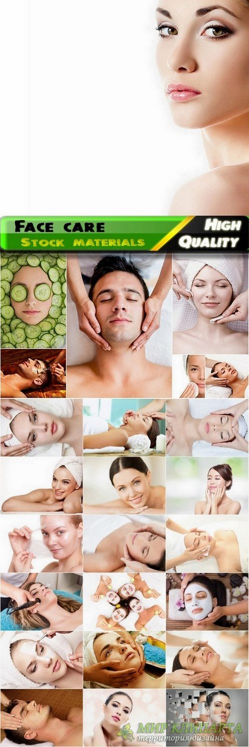 Facials and face care Stock images - 25 HQ Jpg
