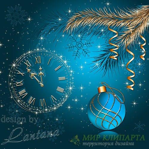 Psd исходник - Новый год к нам мчится 2