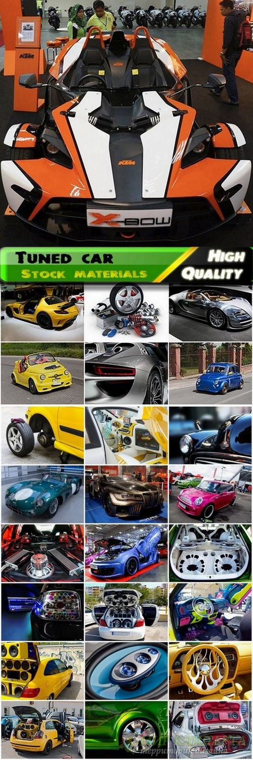 Tuned car and tuning Stock images - 25 HQ Jpg