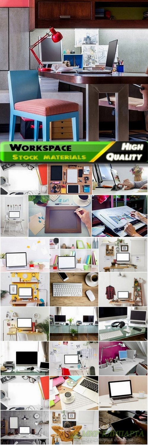 Interior of Workspace Stock images - 25 HQ Jpg