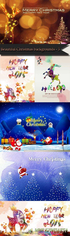 Beautiful Christmas backgrounds - 3