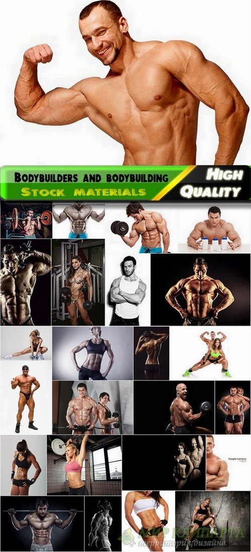 Bodybuilders and bodybuilding Stock images - 25 HQ Jpg