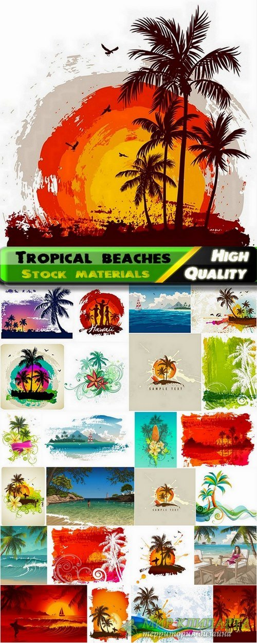 Tropical beaches and summer landscapes - 25 Ai