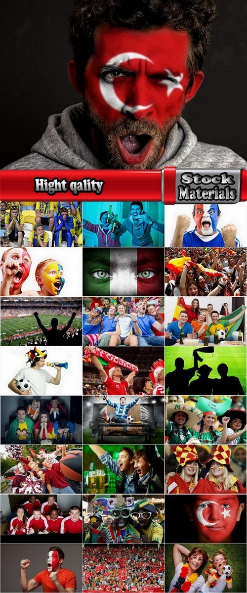 Collection of various sports fans 25 UHQ Jpeg