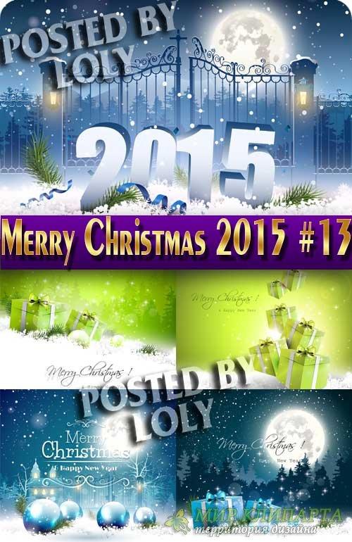 Скоро Новый Год 2015 #13 - Векторный клипарт