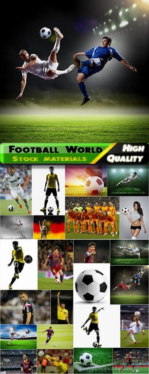 Football World and players - 25 HQ Jpg
