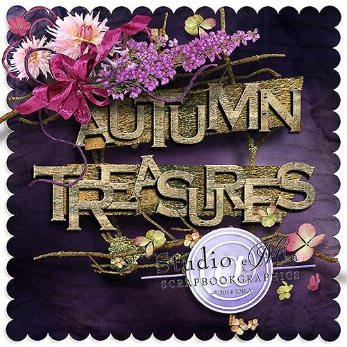 Скрап-набор - Autumn Treasures