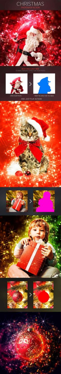Graphicriver - Christmas Photoshop Action 9409331