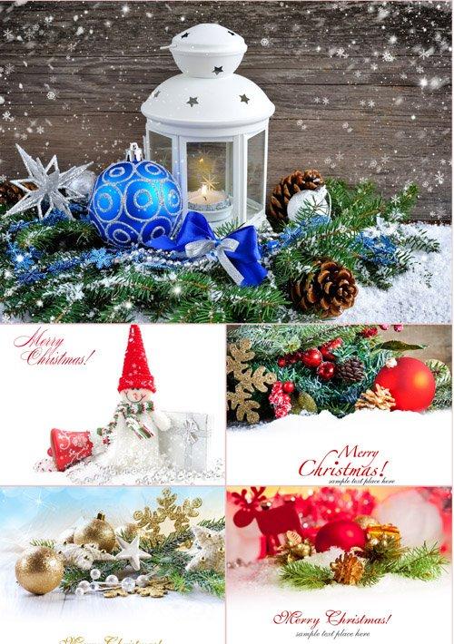 Стоковые фотографии - Новогодние украшения. Часть 1