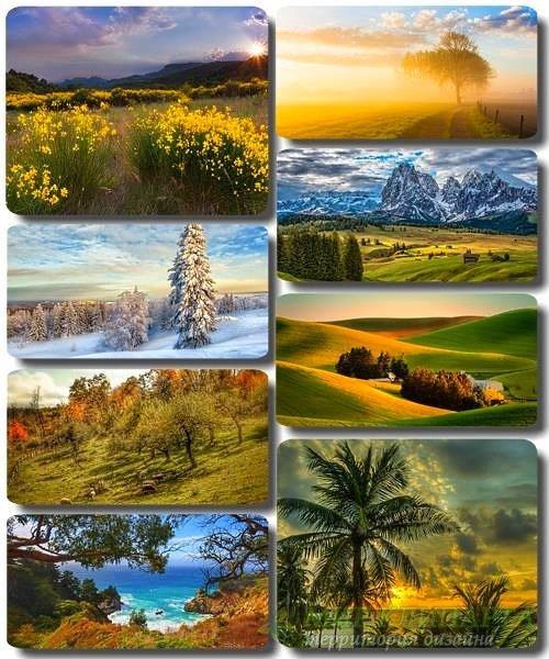 Живописные пейзажи - Обои с фото природы (альбом 33)