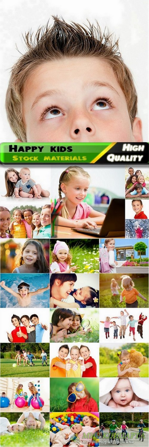 Happy kids Stock images - 25 HQ Jpg