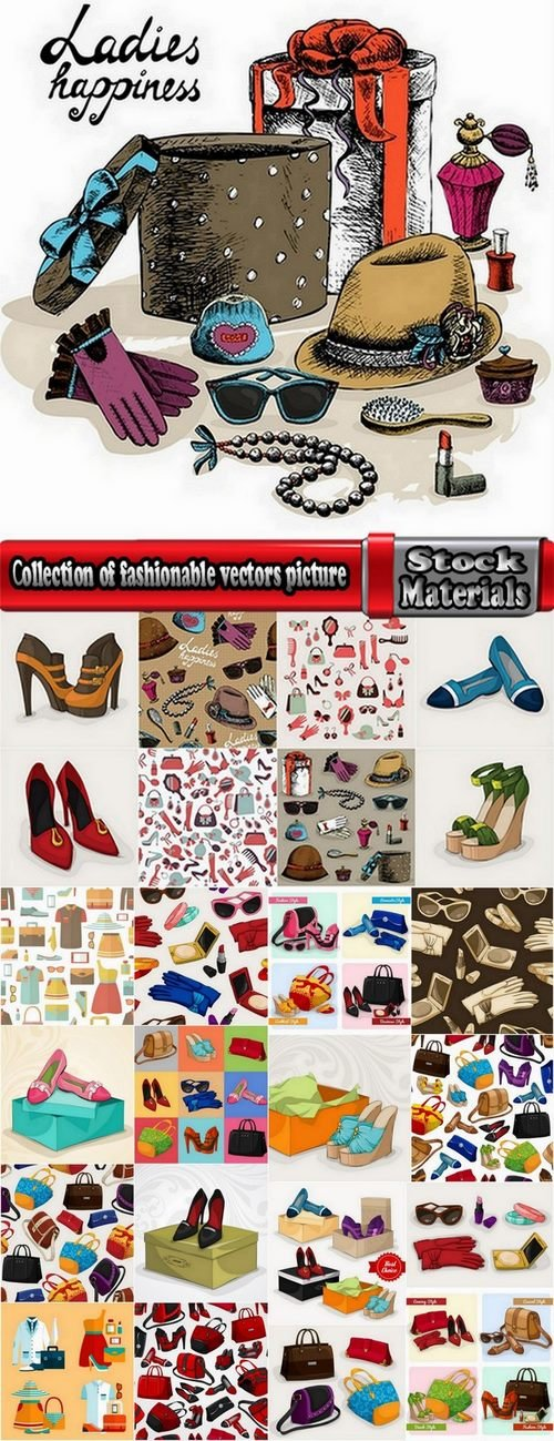 Сollection of fashionable vectors picture 25 Eps