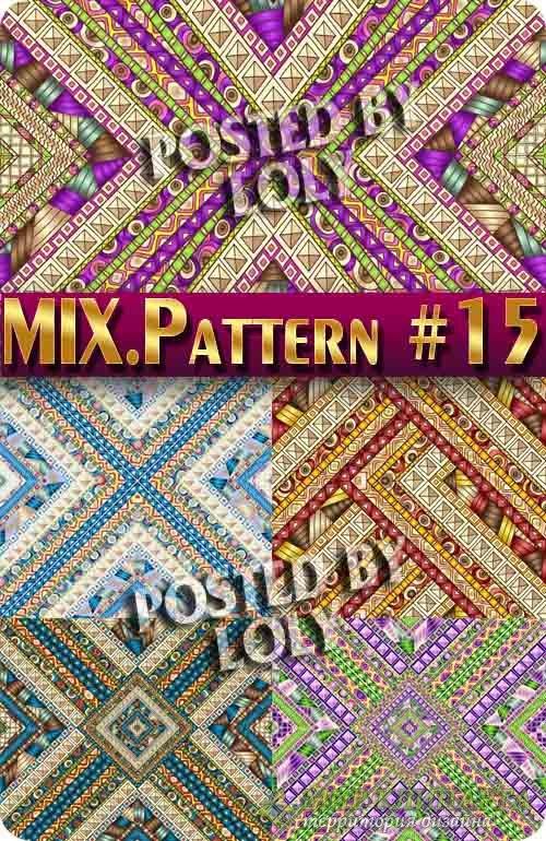 MIX паттерны #15 - Векторный клипарт