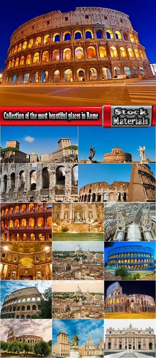 Collection of the most beautiful places in Rome  17 UHQ Jpeg