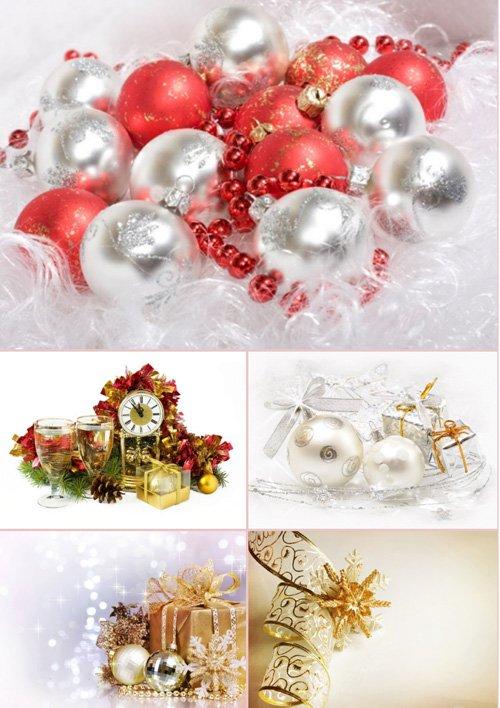 Стоковые фотографии - Новогодние украшения. Часть 3