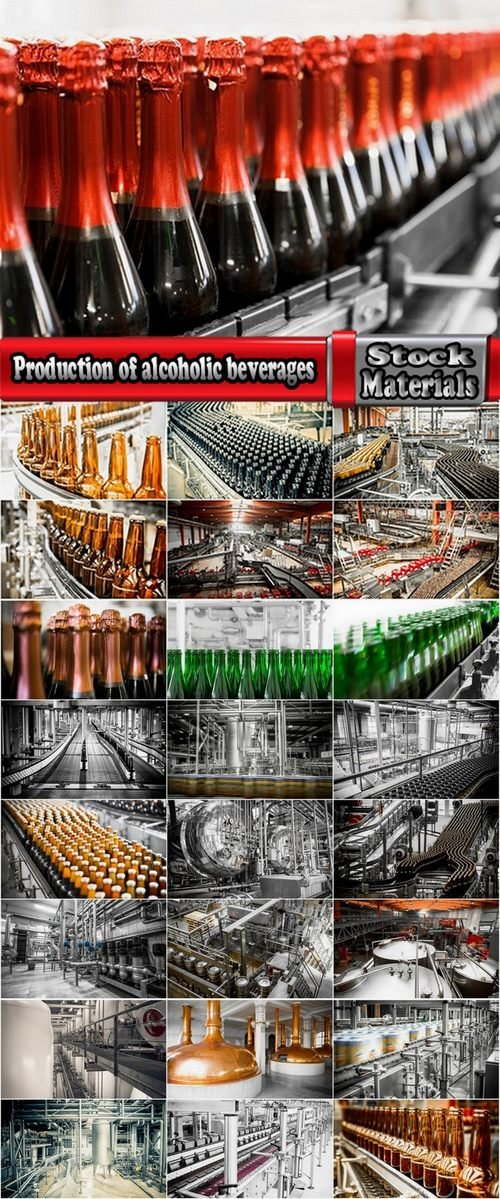 Collection of images of the production of alcoholic beverages 25 UHQ Jpeg