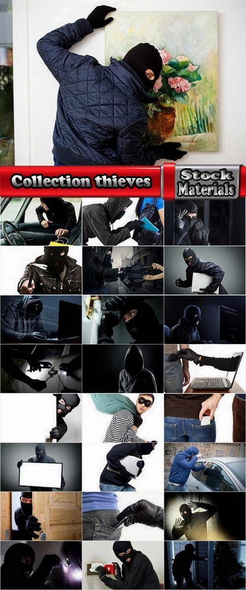 Collection thieves 25 UHQ Jpeg