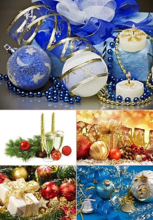 Стоковые фотографии - Новогодние украшения. Часть 4