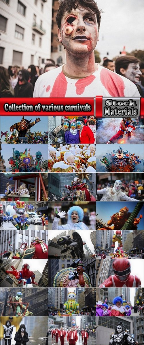 Collection of various carnivals 25 UHQ Jpeg