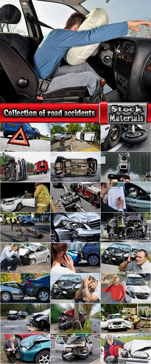 Collection of road accidents 25 UHQ Jpeg
