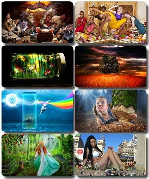 Сборник креативных обоев - Art картинки (часть 31)