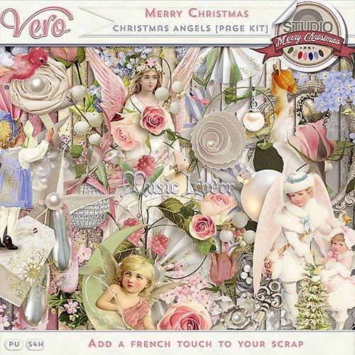 Скрап-набор - Christmas Angels