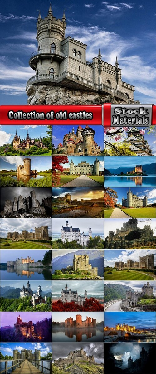 Collection of old castles 25 UHQ Jpeg