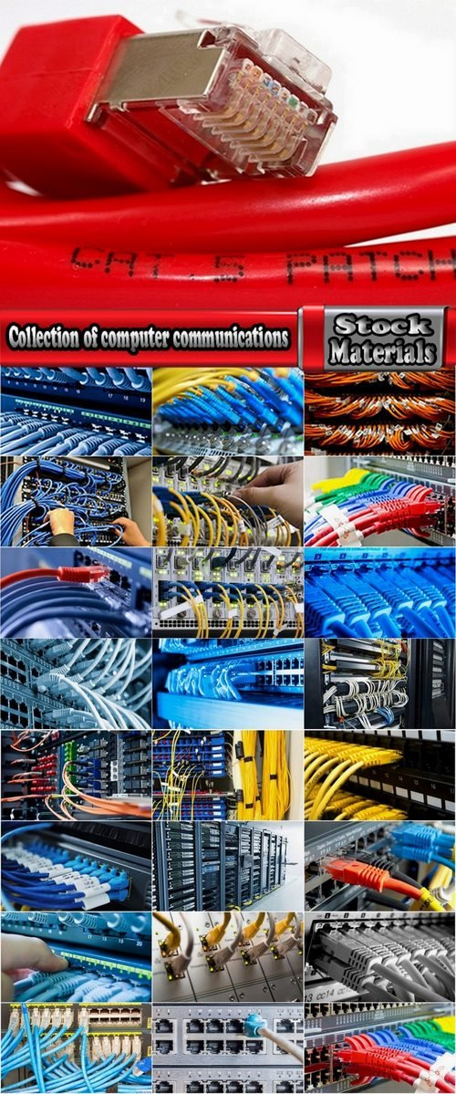 Collection of computer communications 25 UHQ Jpeg