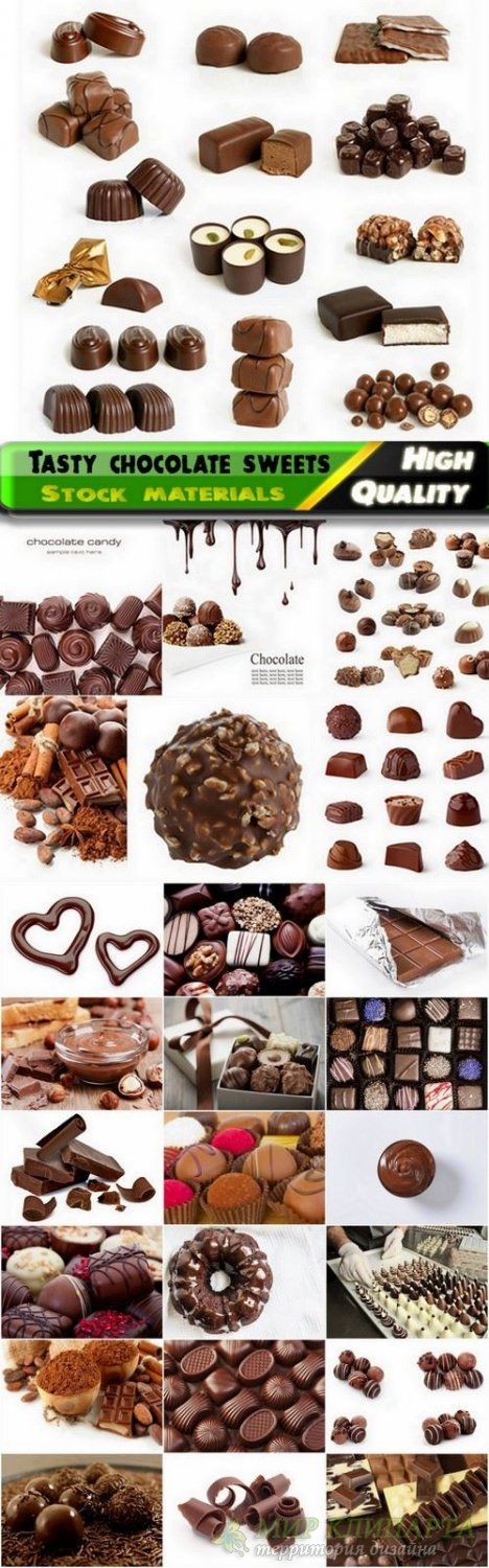 Tasty chocolate sweets Stock images - 25 HQ Jpg