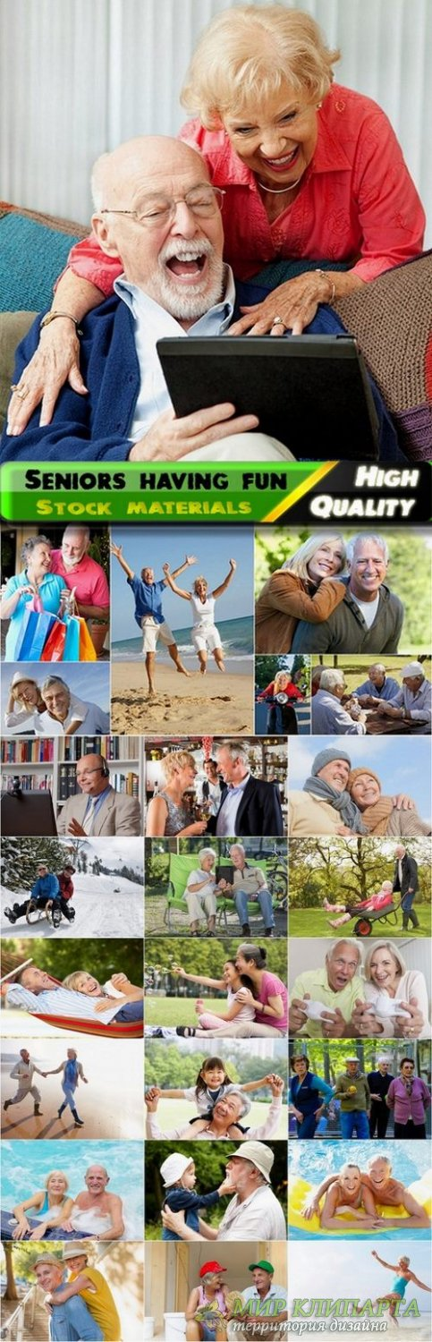 Seniors having fun Stock images - 25 HQ Jpg