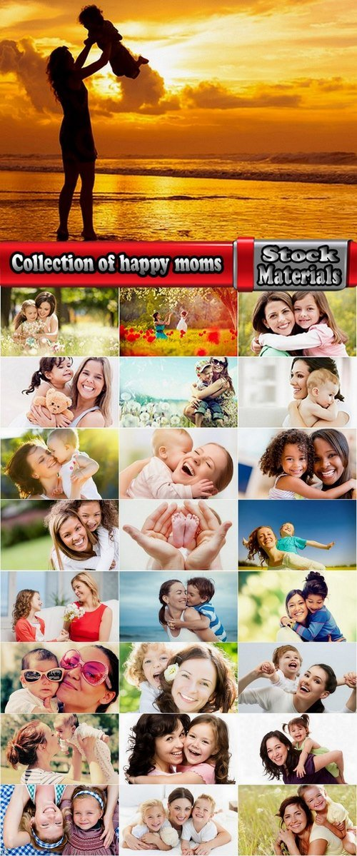 Collection of happy moms 25 UHQ Jpeg