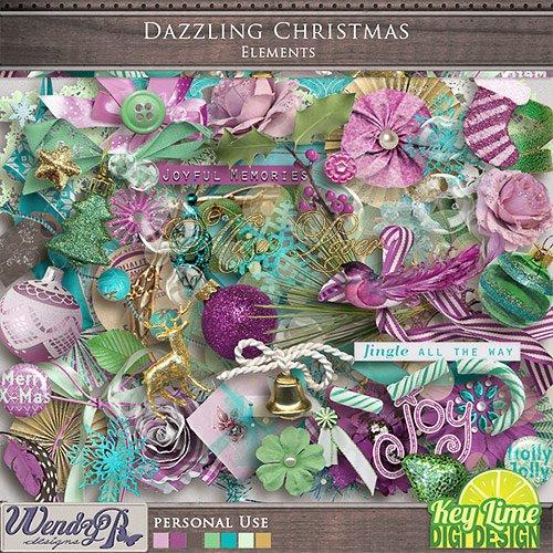 Скрап-набор - Dazzling Christmas