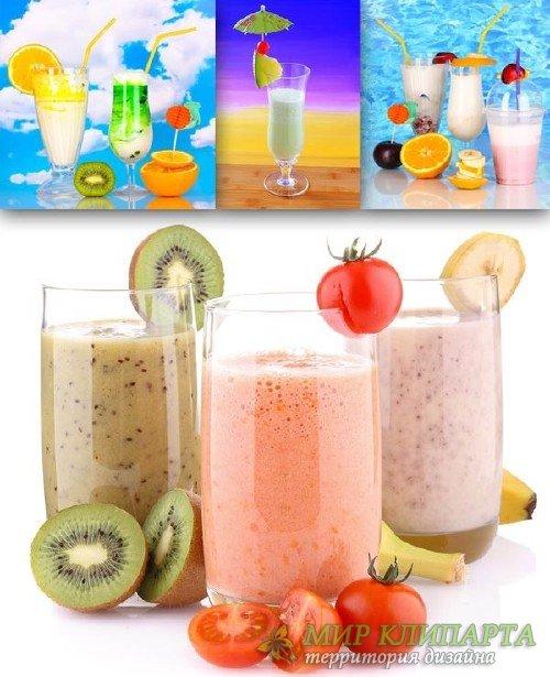 Безалкогольные напитки: Молочный коктейль (подборка изображений)