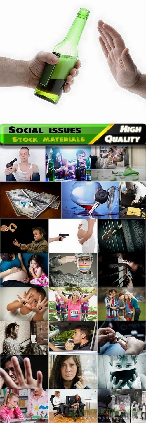 Social issues conceptual images from stock - 25 HQ Jpg