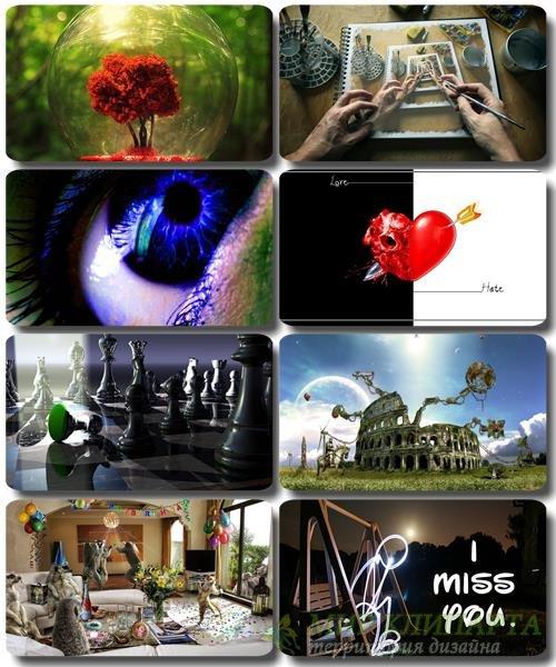 Сборник креативных обоев - Art картинки (часть 32)
