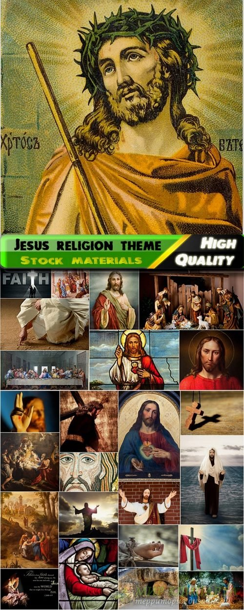 Jesus images of religion theme from stock - 25 HQ Jpg